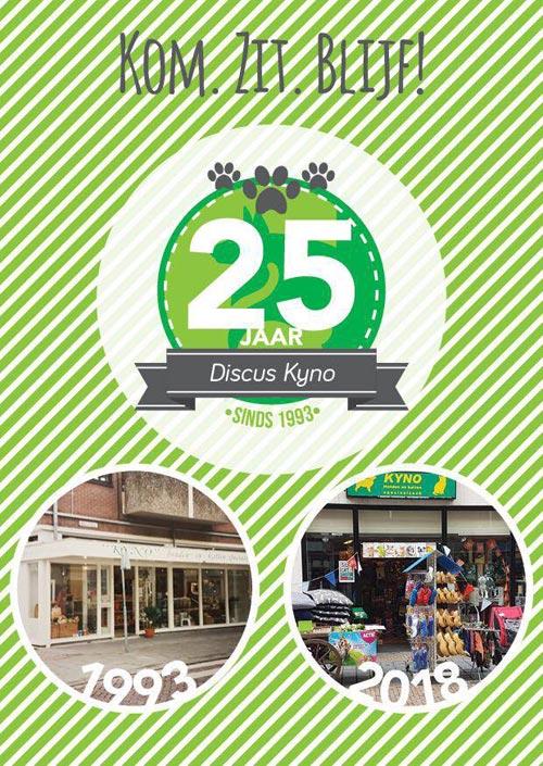 Discus Kyno bestaat 25 jaar