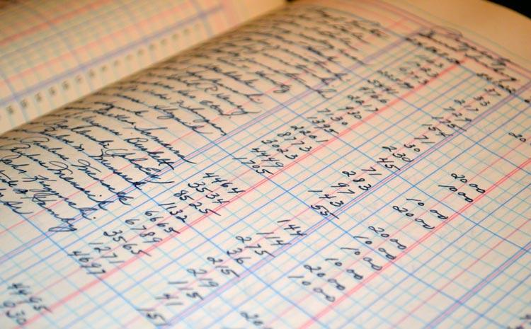Betalingsverkeer - kasboek van vroeger