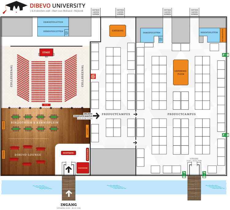 Dibevo University - plattegrond