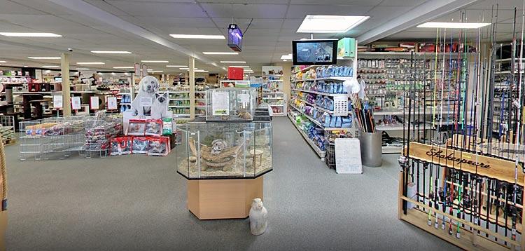 Sascha Diertotaal binnenkomst in de winkel