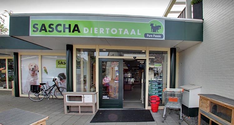 Sascha Diertotaal ingang dierenwinkel