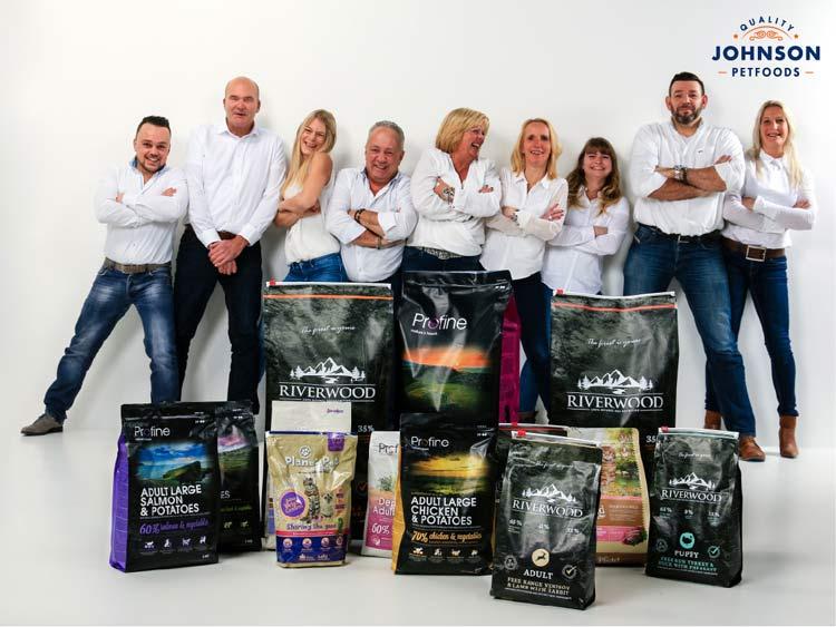 Team Johnson Petfoods