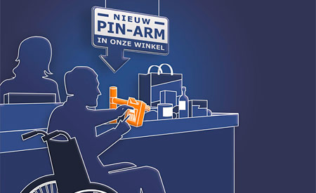 Pin-arm