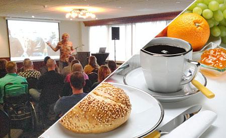 Ontbijt en sessie