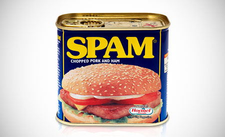 spam is ongewenste reclame
