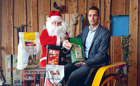Dier all-in kerst-spaarkaarten