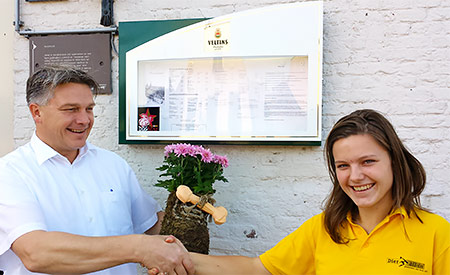 Dogstar-erkenning voor restaurant Seidel