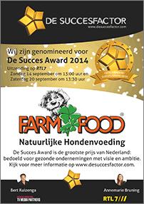 Farm Food branchewinnaar De Succesfactor