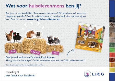 Flyer huisdierentest licg