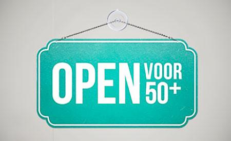 Campagne Open voor 50-plus