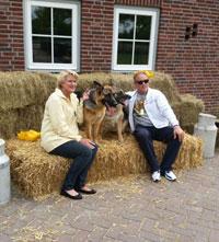 Met je huisdier op de foto bij Dierenvakantieboerderij 'de Lofert'
