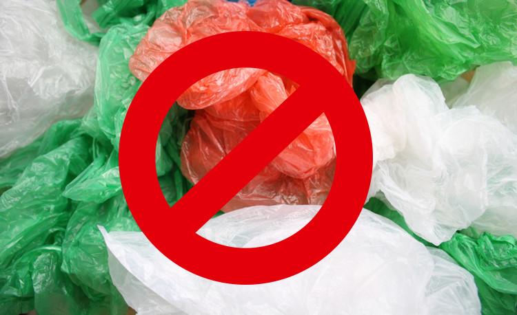 Plastic tasjes - verbod