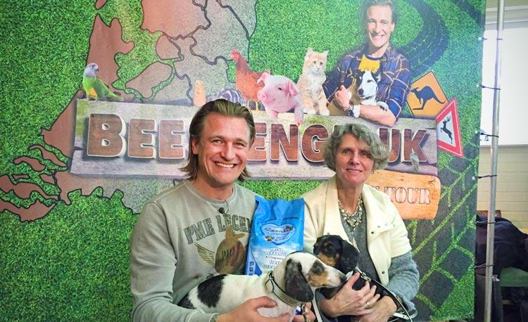 Renske Natuurlijke Diervoeding sponsort Beestengeluk