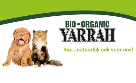 Yarrah Organic Petfood schenkt omzet