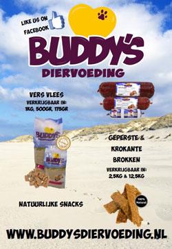 Dick Rood presenteert Buddy's Diervoeding op de Dibevo-vakdagen