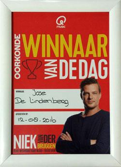 Hondenpension De Lindenberg Winnaar van de Dag bij Q-Music