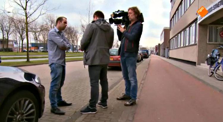 Melvin de Haan van Alles voor Dieren in het programma Opgelicht?!