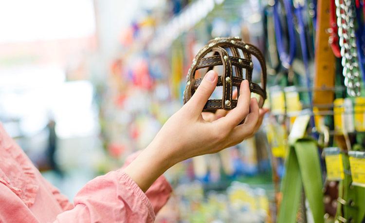 Product kiezen in dierenwinkel