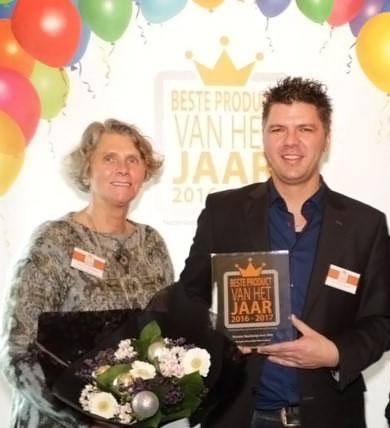 Renske trots op de prjis 'Beste product van het jaar'