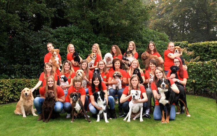 Het team van Hondenpension De Lindenberg