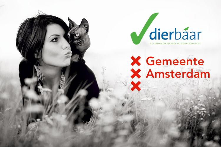 Amsterdam geeft subsidie voor keurmerk Dierbaar