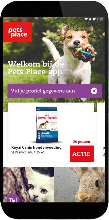 App van Pets Place