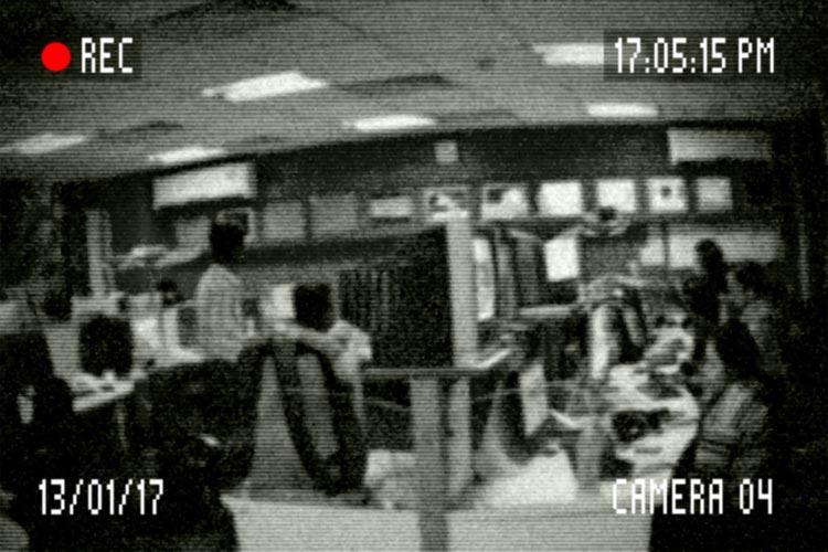 Beeld beveiligingscamera