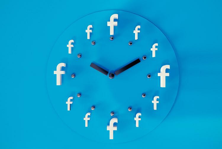Wanneer en op welk tijdstip zet je iets op Facebook?