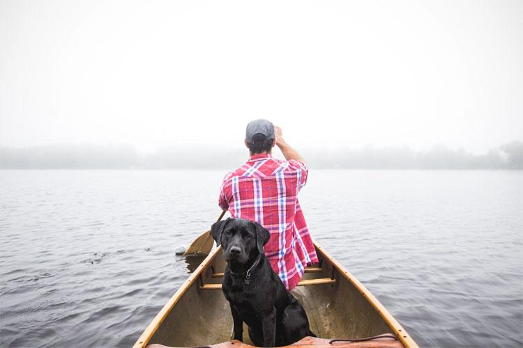 Op het water