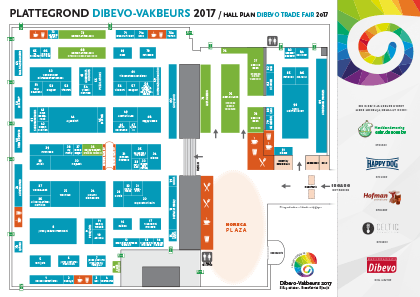 Floorplan Dibevo Trade Fair