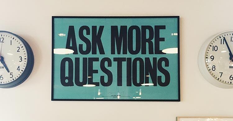 Ste meer vragen aan je klant