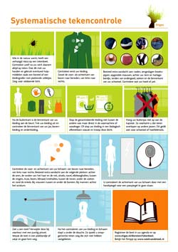 Tekencontrole: beperk Ziekte van Lyme