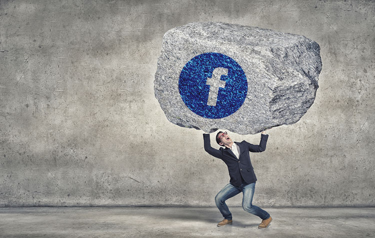 Worstelen met Facebook