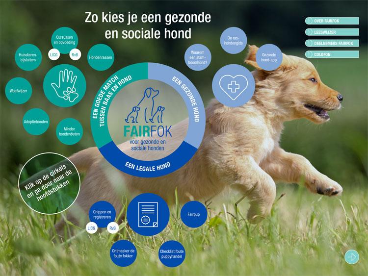 Brochure fairfok - Zo kies je een gezonde en sociale hond