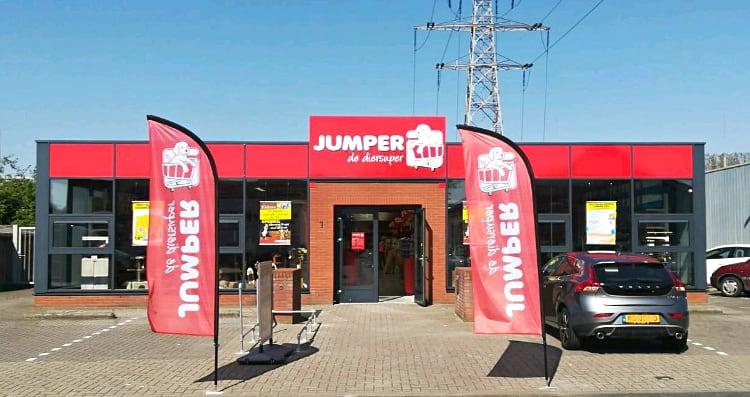 Jumper Tiel geopend