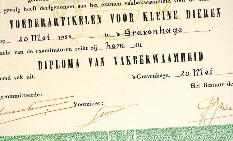 Diploma van vakbekwaamheid