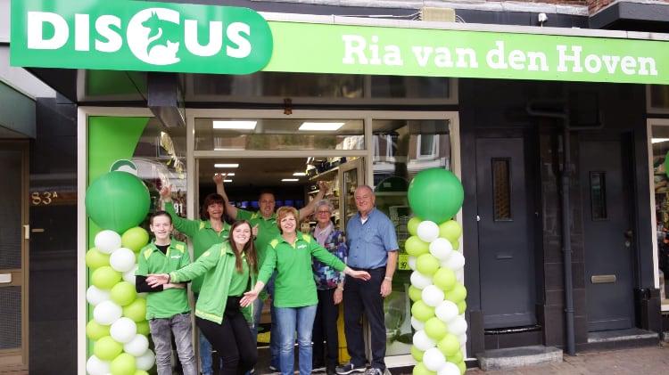Verhuizing Discus Ria van den Hoven