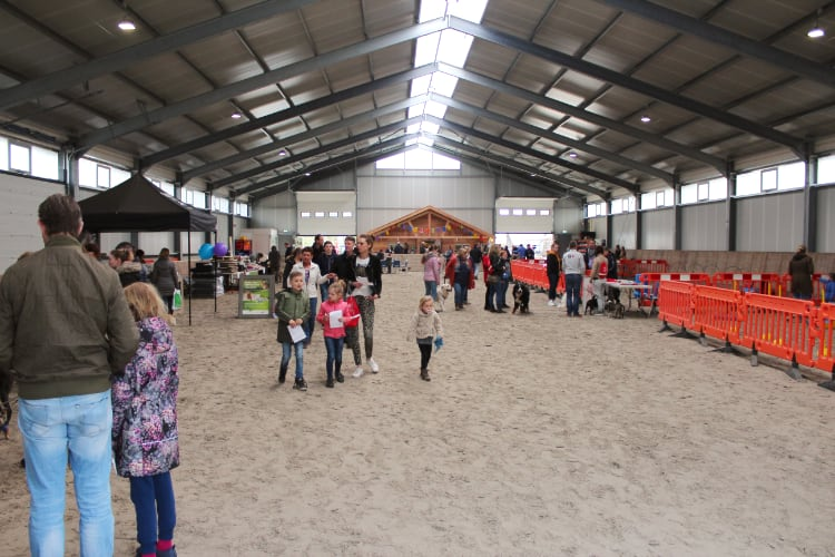 Nieuw trainingshal Dp In 't Veld