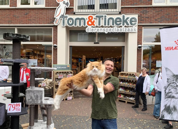 Kattencafe bij Tom & Tineke