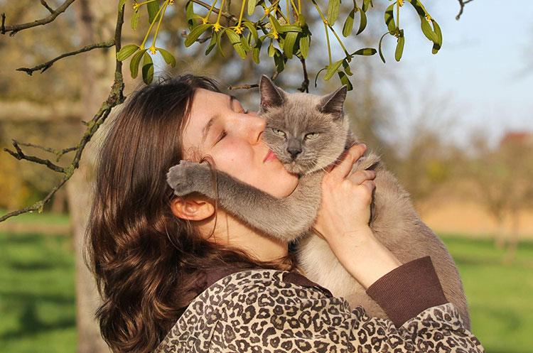 Liever op de foto met huisdier dan met partner
