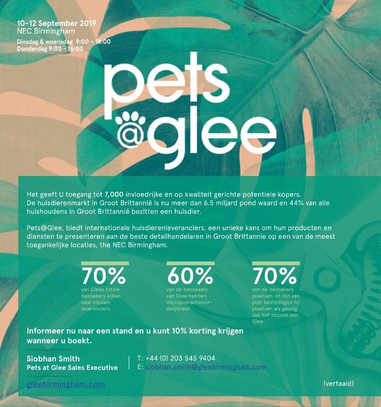 Pets@Glee-beurs