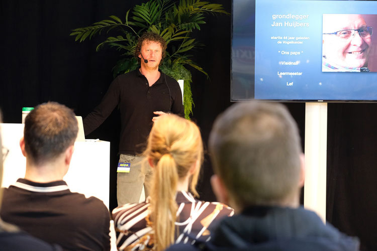 Jimmy Huybers geeft een lezing op ANIDO 2020