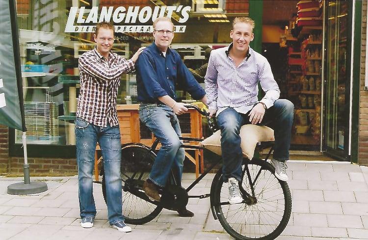 Drie generaties Langhout's dierenspeciaalzaak