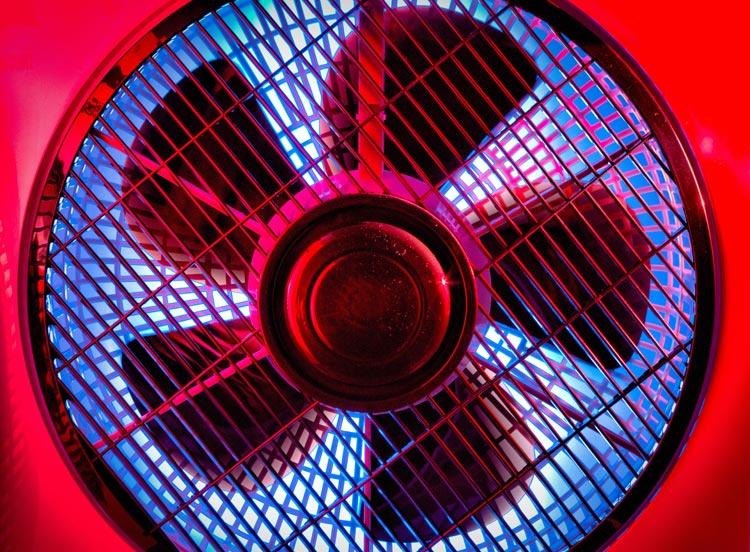Ventilator en corona