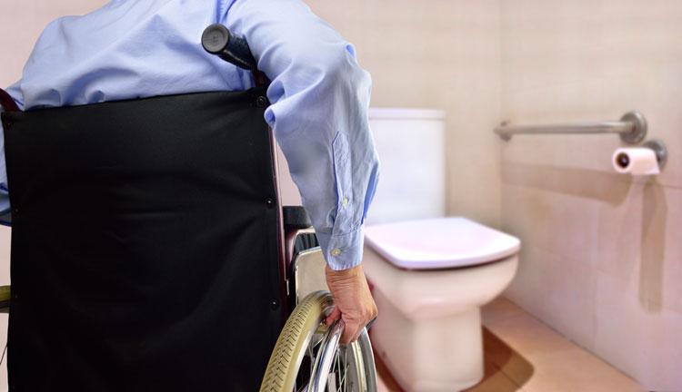 Toilet - werkaanpassing voor iemand met een arbeidsbeperking