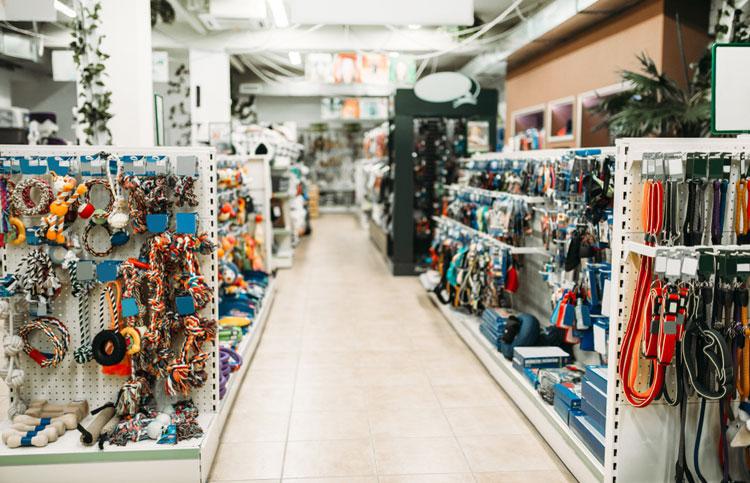 Lege winkel