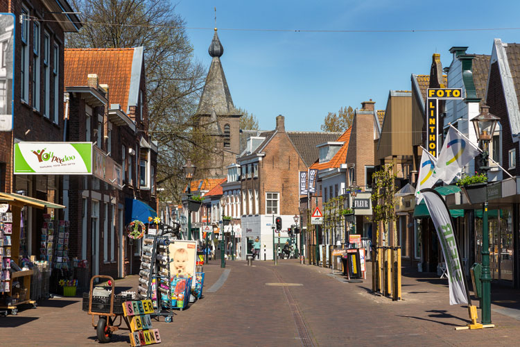 Winkelstraat in Zoetermeer