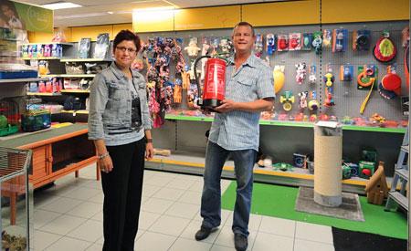 Grietje Bekker van Dibevo Risk en Danny Vermeulen van Dobey Utrecht