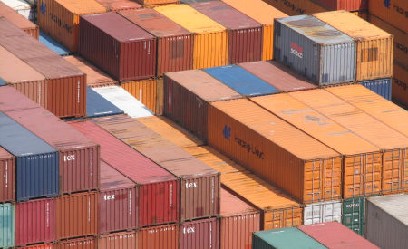 containers transport over zee